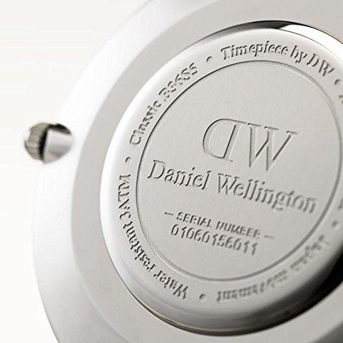 『CLASSIC BLACK新品Daniel Wellington ダニエル ウェリントン レディース腕時計 クラッシー 本革 腕時計 ピンクゴールド 36mm [並行輸入品]』の5枚目の画像