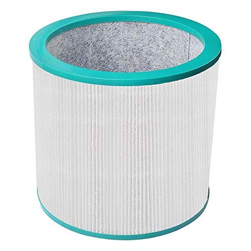 Poweka HEPA-Filter Kompatibel mit Dyson Pure Cool Link AM11 TP00 TP02 TP03 Luftreiniger Ersatzluftfilter