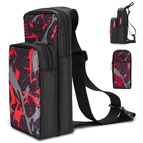 Portable Travel Carrying Case for Nintendo Switch, Durable Shoulder Storage Bag Fashion Backpack for Switch/Switch Lite Console Accessories