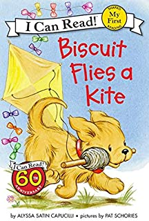 Biscuit Flies A Kite (I Can Read)