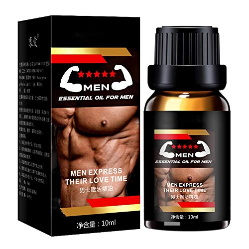 Male Sensual Massage Oil,SUNSENT Energy Massage Essential Oil for Sex,Men Penis Growth Oil, Increase Enlarge Oil Delay Time