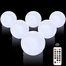 Aokely Floating Pool Lights 6pack 3.1