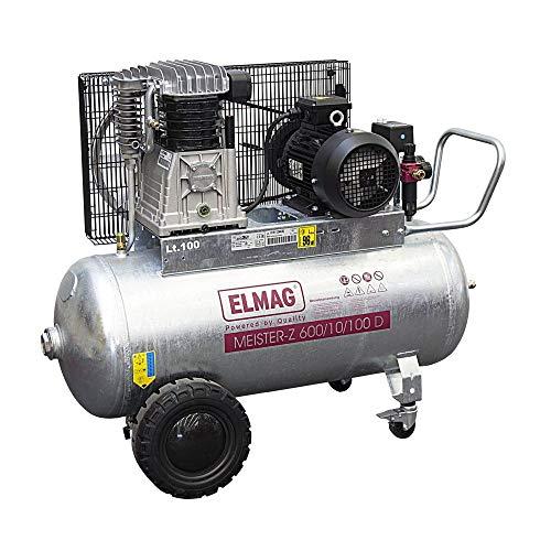 Elmag MEISTER-Z verzinkt 600/10/100 D - Kompressor