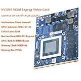 AZrm Gaming Laptop Video Card GeForce GTX 970M GTX970M 6GB GDDR5 192bit Graphics Video Card for MXM VGA Board Upgrade Replacement Kits