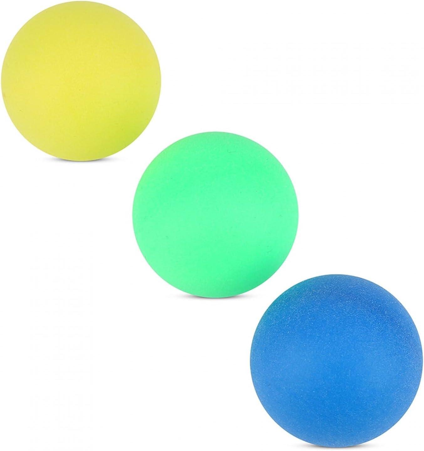 Hozee Colorful Balls, Pong Balls 60Pcs/Set Colorful Pong, Room D