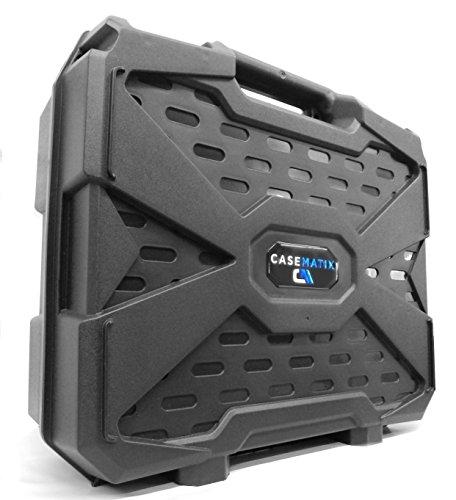 CASEMATIX Travel Hard Case Compatible with Alienware Steam Machine, Gigabyte Brix Pro, SteamMachine, Steam Link, Steam Controller, Power and More