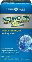 Vitamin World Neuro-PS 300mg Triple Strength, 60 Softgels