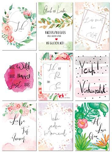 Postkarten Hochzeit | 52 Wochen - 3