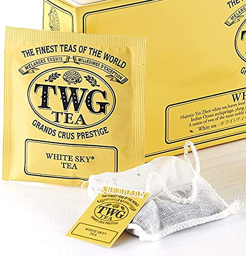 TWG Singapore Luxury Teas Milwaukee Mall - White Sky Tea 100 sewn Hand pure Award-winning store c