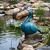 Aquascape 78309 Toucan Spitter Water Fountain, Green...