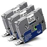 GOZAR 20pcs 30-75 mm Mix Cassette Tape Machine Universal Repair Belt Square Belt