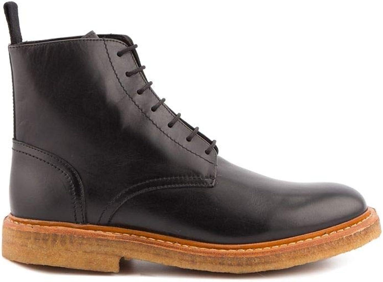 Du Du Du måste skapa mäns 162PFGAQBLAKK svart läder Ankle stövlar  het försäljning