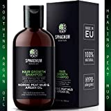Argan Oil Hair Growth Shampoo - 100% Natural Sulfate Free Treatment with Effective