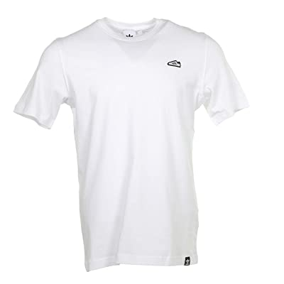 adidas Originals Superstar Embroidered Tee (White) Men