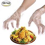 Einweghandschuhe, Mehrzweckhandschuhe fr Kinder, ohne Latex, transparent, wasserdicht, ungiftig, unschdlich, lebensmittelvertrglich, 100Stck