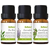 Organic Essential Oils: Pure therapeutic grade, tested for Gc/Ms purity, 0.34 fl.oz (10ml) each. Natural Diffuser Oils: Suitable for many diffuser. Just a few drops, make you relax and eliminate stress. Key Benefits: Lavender helps to sooth nerve and...