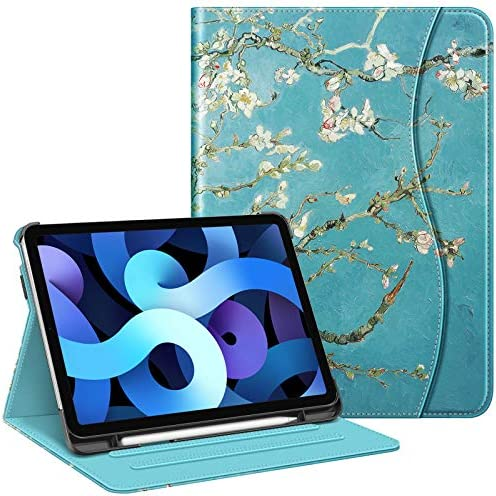 Fintie Case for iPad Air 4 10 9 Inch 2020 with Pencil Holder Multi Angle Viewing Cover Supports product image