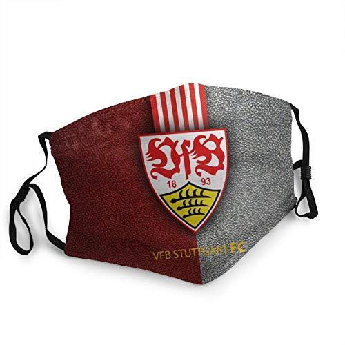 VfB Stuttgart,Mundschutz,Anti Wind Gesichtsdekorationen,Face Scarf,Wiederverwendbare Staubdichte,Unisex Stirnband