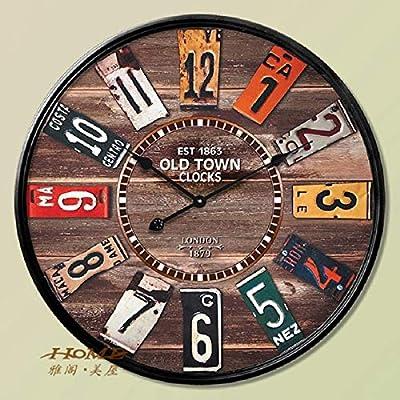 60CM Wall Clock Saat Clock Reloj Duvar Saati Horloge Murale Digital Wall Clocks Relogio De Parede