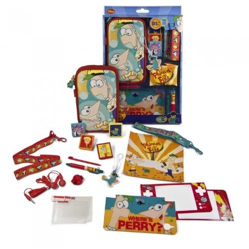 Indeca 183051Phineas and Ferb Kit Console de Jeu, Accessoires