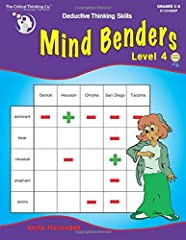 Mind Benders, our best-selling deductive thinking puzzles, develop logic, reading comprehension, and mental organizational skills. They're also great for developing real-life, problem-solving skills. The key is to start with the most obvious associat...