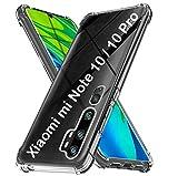 tomaxx Hülle für Xiaomi Mi Note 10/10 Pro Silikon Hülle Schutzhülle Tasche kompatibel mit Xiaomi Mi Note 10/10 Pro Kantenschutz