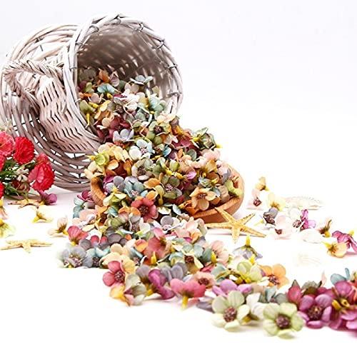 Fmaoltkk 50 unidades de flores artificiales multicolor de flores de margaritas Mini...