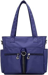 Wultia - Bags for Women Fashion Casual Nylon Single Shoulder Crossbody Bag Totes Waterproof Bags Handbags Bolsa Feminina *0.92 Blue