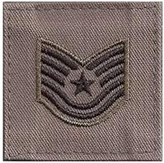 US Air Force ABU Rank with Hook Fastener
