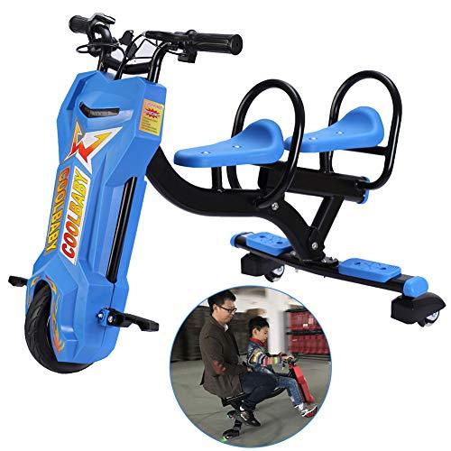 FLy Kart Electric Tres Ruedas Coche Equilibrio Eléctrico para Niños Scooter Patinete...