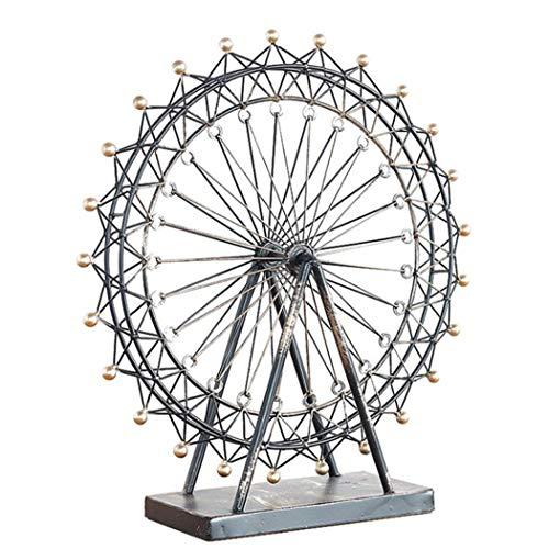 Wohnaccessoires Basteln Geschenke Vintage Rotierendes Riesenrad Kreatives Zuhause Metalldekoration