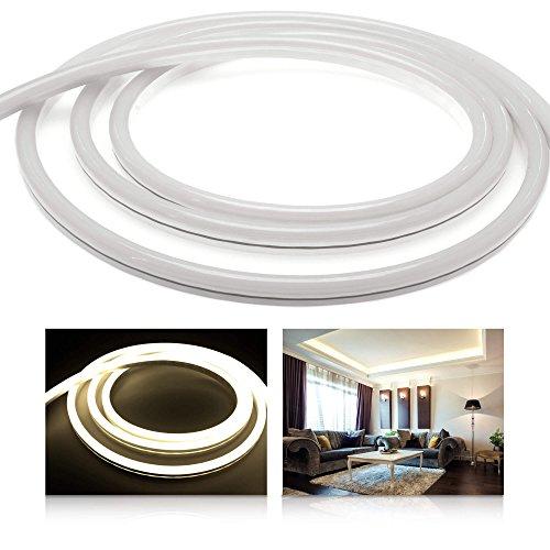 Ledu Neon Flex Premium Blanc neutre LED (24 V bande de LED Stripe sans éclairage LED points, durchgängig lumineux, 9 W/M, EEK : A), 4 Meter 24.00 volts