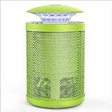 PENGFEI Lámpara del Mosquito Plagas Repelente Tipo De Succión LED Casa Cuarto Oficina La Seguridad Salud, 5 Colores (Color : Verde, Tamaño : 14x14x38.5CM)