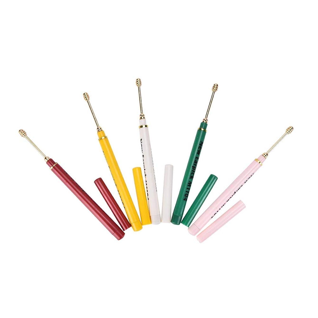 救援作物罹患率ZHQI-GH ランダムカラー2ピースイヤホンスプーンツールクリーン耳ワックスキュレットリムーバーヘルスケアカラフルなギフト (Color : Multi-colored)