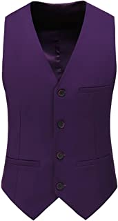 Mens Slim Fit Four Button Tuxedo Waistcoat