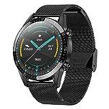 QLK Smart Watch, Fitness Tracker, Nueva Pantalla Redonda táctil...