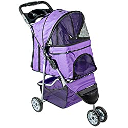 Many different colors available for the VIVO 3 wheel dog stroller