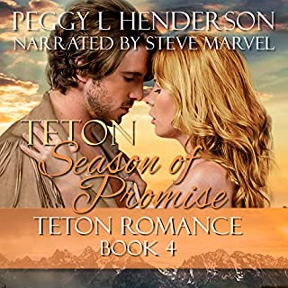Teton Season of Promise  audiobook cover art