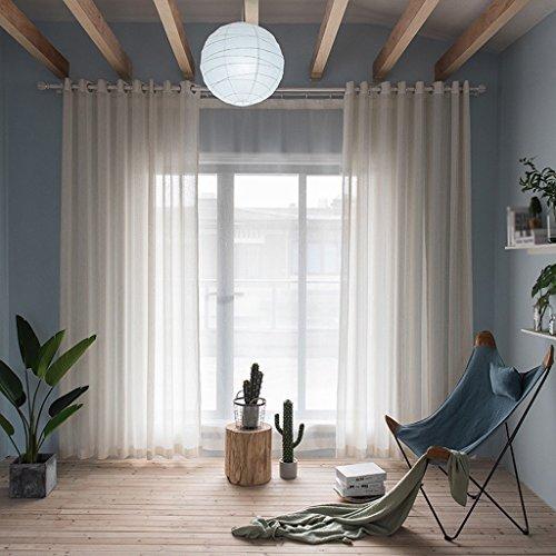 Met Love Étude de chambre d'écran de vent de rayure de fil de Ma a consacré le panneau 2 de balcon (taille : L:1.5*H:2.7m)