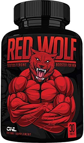 Red Wolf Testosterone Booster for Men Enlargement Supplement Ultimate Mens High Potency Endurance product image