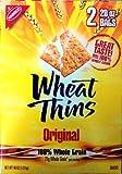 Nabisco Wheat Thins Original Snack Crackers 21 gram Whole Grain 2 Bags of 20oz