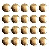 Anjing Fashion Bottoni in metallo al petto Blazer Bottoni Gold Crown confezione da 20