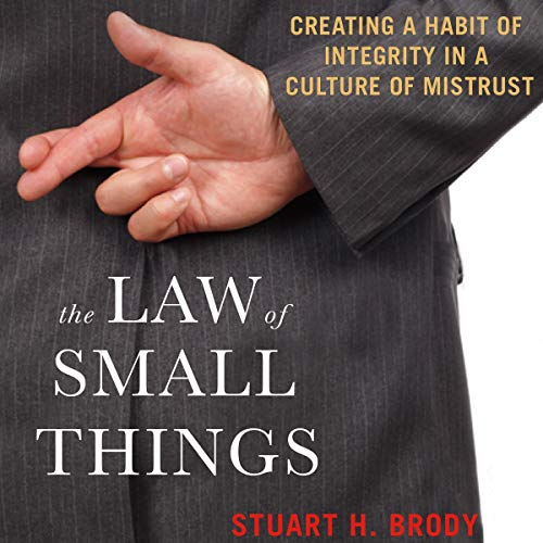 The Law of Small Things audiobook cover art