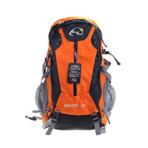 Docooler 40L All'aperto Sport Viaggi Zaino Montagna Arrampicata Zaino con Pioggia Coprire Campeggio Escursionismo