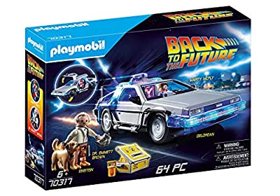 Playmobil 70317 Back to the Future© DeLorean Toy by Playmobil
