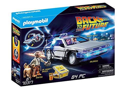 Playmobil Back to the Future 70317 - DeLorean con Effetti Luminosi, dai 6 anni