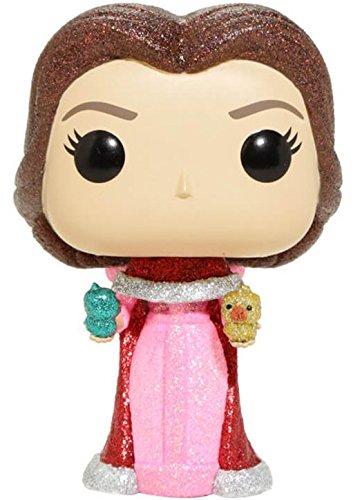Figura Pop Disney Beauty & The Beast Belle with Birds Glitter Exclusive