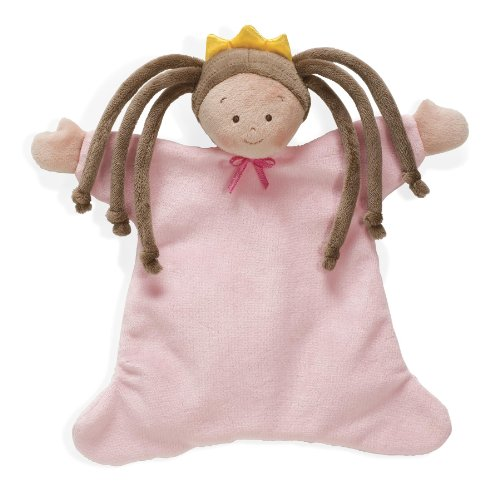 North American Bear 8.5 Little Princess Cozie Blankie, Brunette (Discontinued by Manufacturer) by North American Bear