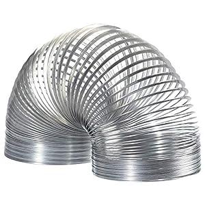 Slinky Brand The Original Slinky Walking Spring Toy, 3-Pack Metal Slinkys, Multi-Color