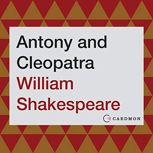 Antony and Cleopatra audiobook cover art